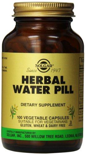Solgar Herbal Diuris Integratore Alimentare ad Azione Drenante e Diuretica - 100 Capsule Vegetali