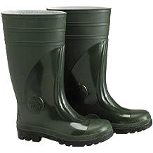 Wolfpack 15010150 - Botas de goma altas, de seguridad, talla 39, color verde