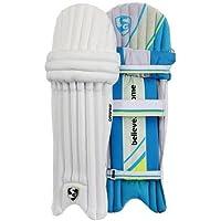 SG optipro Protector de Pierna de bateo para críquet Almohadillas Mens tamaño Derecho y Izquierda (el Color Puede Variar)