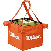 WILSON Teaching Carrito para Pelotas-Unisex, Adulto, Naranja, NS