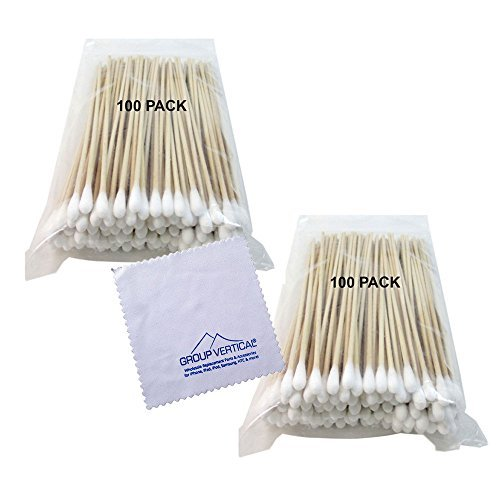 group-vertical-cotton-swab-applicator-q-tip-swabs-6-extra-long-wood-handle-sturdy-new-200-ct-by-grou