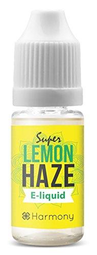 *Harmony CBD Liquid mit 100mg CBD – 10ml – Super Lemon Haze Geschmack (nikotinfrei)*