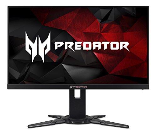 Acer UM.HX2EE.005 Predator 69cm (27 Zoll Full HD) Monitor (HDMI, DisplayPort, USB 3.0, 1ms Reaktionszeit, 240Hz, Höhenverstellbar, Nvidia G-Sync) schwarz