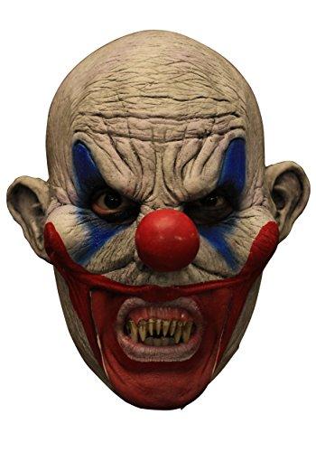 Gruselige 3/4 Clown-Maske für (Masken Beste Scary Clown)