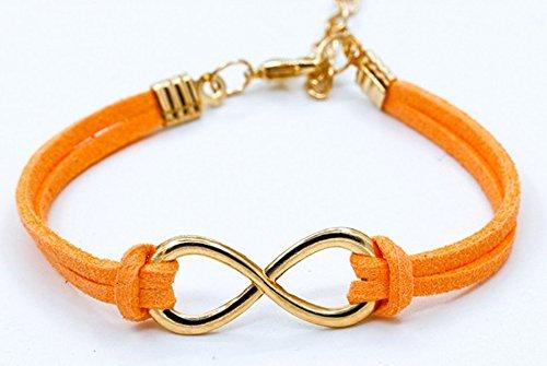 honeysuck-naranja-multicapa-cuero-wrap-pulsera-simbolo-de-infinito-pulsera