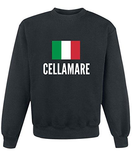 Felpa Cellamare city Black