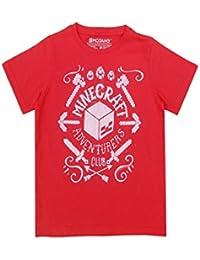 Minecraft Creeper garçons Vintage Duality T-shirt à manches courtes Top Age 7 à 14 ans