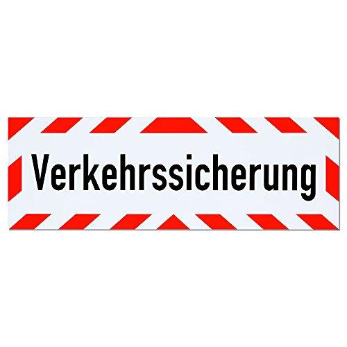 Magnetschild Verkehrssicherung | Schild magnetisch | lieferbar in drei Größen (45 x 15 cm) -