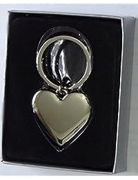 Cromo llavero, diseño de corazón