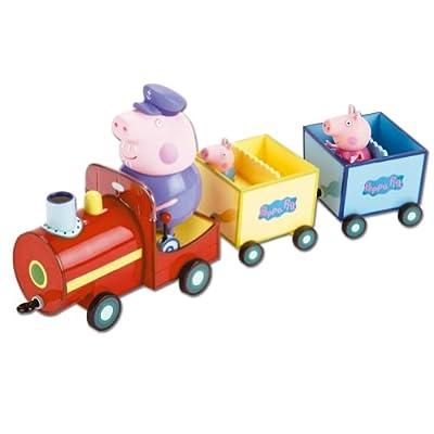 Peppa Pig 84210 - Trenecito Del Abuelo Pig (Bandai) de Bandai