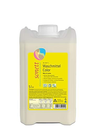 Waschmittel Color: Duft von Bio-Minzöl und Bio-Lemongrassöl, 100{d7f3c7ea1ec26a4fc22af730f00e54cf512bf3d8bcdde07731a7727464902e08} biologisch abbaubar