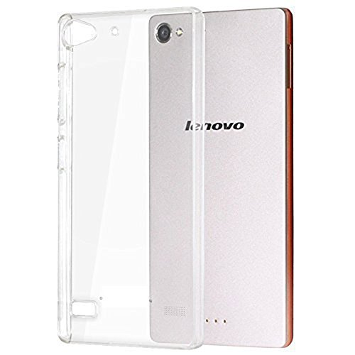 Heartly Ultra Thin 0.3mm Clear Transparent Flexible Soft TPU Slim Back Case Cover For Lenovo Vibe X2 Dual Sim 4G LTE  available at amazon for Rs.150