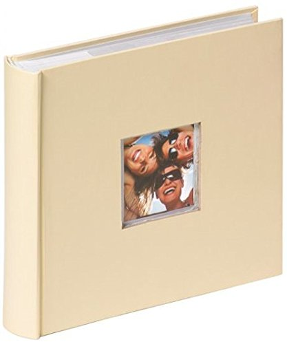 Walther design me-110-h fun album fotografico da inserimento, crema, 200 foto, 10 x 15 cm