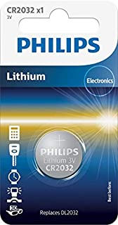 Philips CR2032/01b - Pila de botón (lithium metal) (B00009M6YR) | Amazon price tracker / tracking, Amazon price history charts, Amazon price watches, Amazon price drop alerts