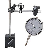 0.01mm magnético para medidores Medidor Reloj Soporte Magnético trípode con comparador Reloj de medición 0–10mm