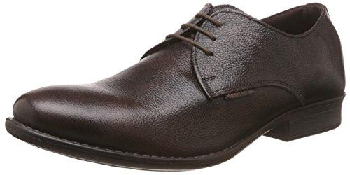 Red Tape Men's Derbys Brown Leather Formal Shoes