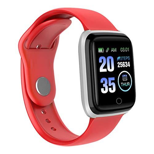 Laile Fitness Armband mit Pulsmesser Blutdruckmesser, Fitness Tracker Smartwatch Wasserdicht Aktivitätstracker Schrittzähler Uhr Damen Herren Farbbildschirm