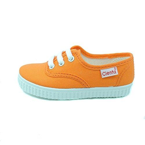 Cienta-Scarpe in tela, con laccetti, ragazzo Arancione Size: 23