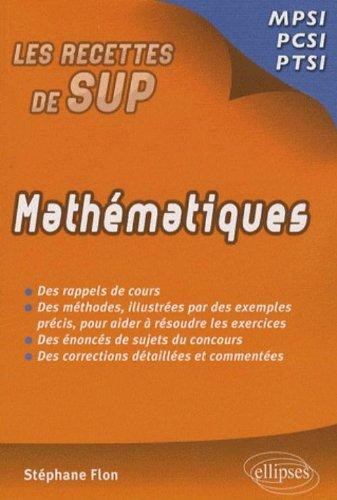 Mathématiques : Classes prépas MPSI - PCSI - PTSI