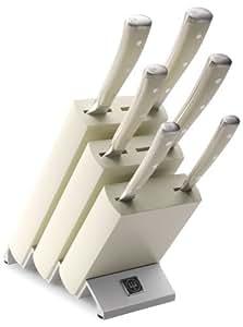 Wüsthof TR9877 Classic Ikon blanc Bloc couteaux avec 6 pièces