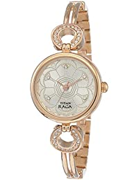 Titan Raga Analog Silver Dial Women's Watch -NM311WM01 / NL311WM01
