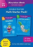 Munchkin Math: Shapes!/Counting Money! [DVD] [2009] [Region 1] [US Import] [NTSC]