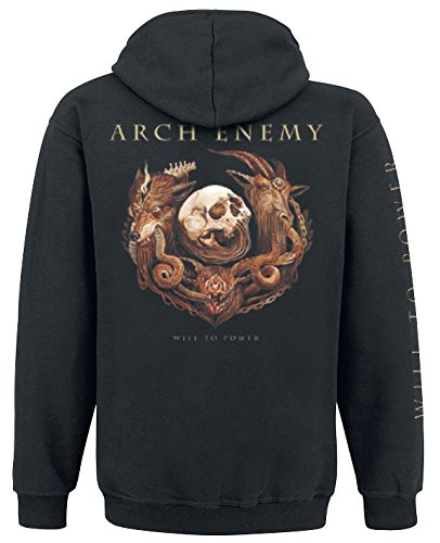 Arch Enemy Will To Power Kapuzenjacke schwarz Schwarz