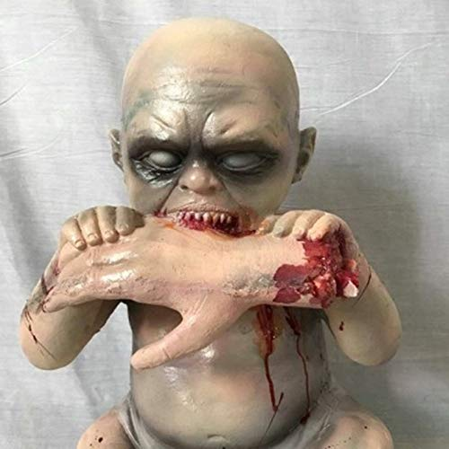 Haunted House Secret Room Escape Requisiten Horror Ghost Baby Ghost Doll Double Strange Kind Halloween Dekoration Ganzer Körper Scary,A2