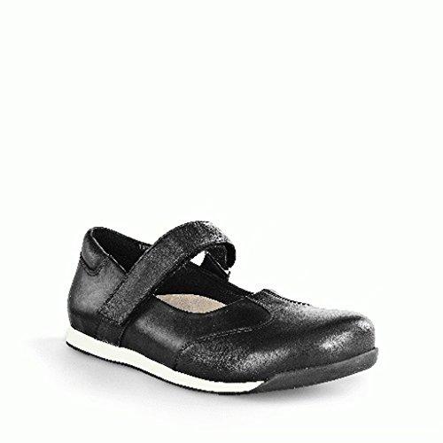 Birkenstock Boots ''Stuttgart'' de Cuir en Noir Black