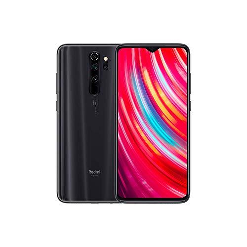 Xiaomi Redmi Note 8 Pro - Smartphone débloqué 4G (6.53 pouces - 6Go RAM - 128Go Stockage - Double Nano-SIM, Quad Caméra - NFC) Noir - Version Française - [Exclusivité Amazon]