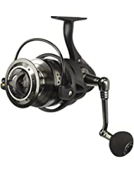 Mitchell 498 Front Drag - Combo de surf fishing, color negro