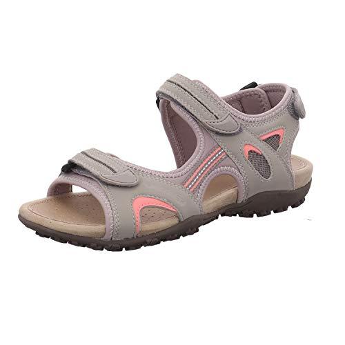 Geox Sandal STREL D9225B Mujer Sandalias de Vestir