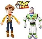 Disney Toy Story Woody and Buzz Lightyear Plush Doll Set by Disney Toy Story Woody and Buzz Dolls