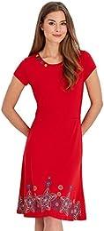Amazon.co.uk: Red - Dresses / Women: Clothing