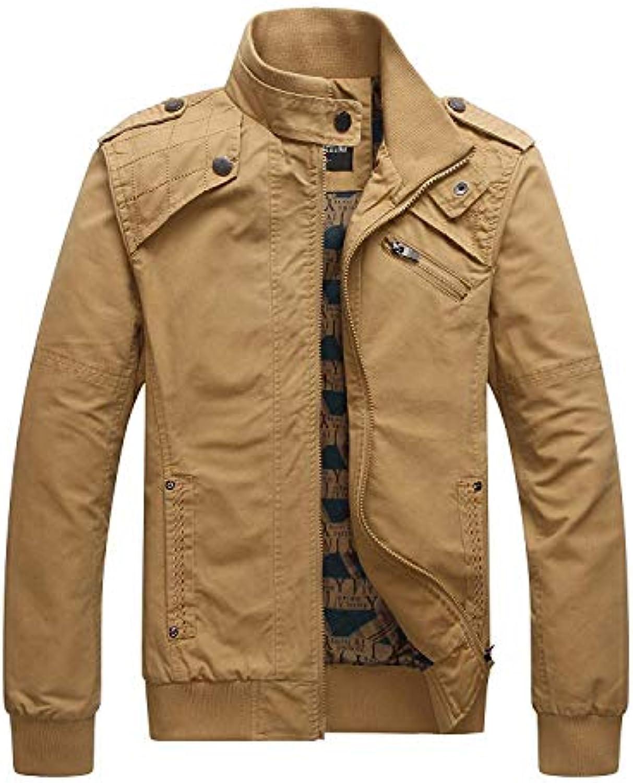 Huixin Giacche da Uomo Casual Business Ragazzo Sportswear Giacca Slim  Cappotto... Soldier Big 8903e213269d