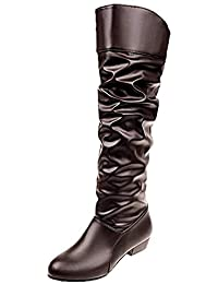 Mujer Botas 39 Alto Tacon Amazon Zapatos es Para xfwq64Z50S