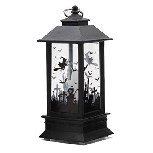 Halloween Teelichthalter, Simuliert Flame Kerze Leuchten Kürbis Kerze Night LED Teelicht Kerzen für Halloween Dekoration Teil Simuliert Flame Leichte Öl Lampe 1# Wie abgebildet (Led-leuchten Für Halloween)