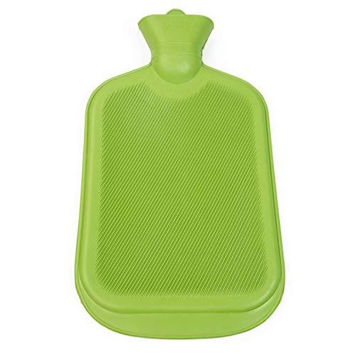 Grünspecht 643-00 Naturkautschuk-Wärmflasche, grün -
