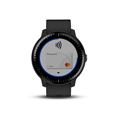 41FyqKrmV0L. SS500  - Garmin Vivoactive 3 GPS Smartwatch with Built-In Sports Apps and Wrist Heart Rate - Black
