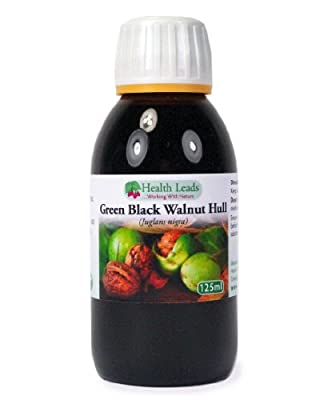 Green Black Walnut Tincture - Ratio 1:2 x 125ml (Extra Strength) from Health Leads UK