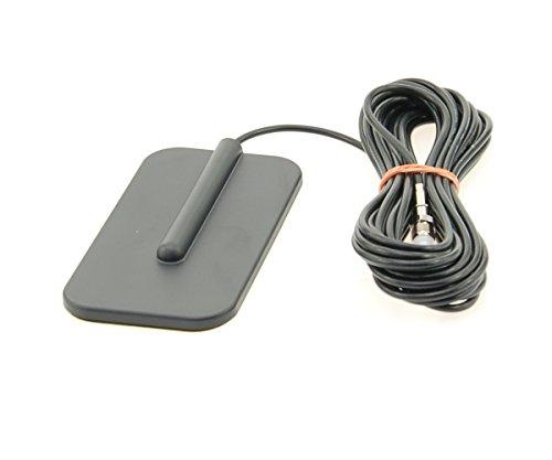 Alda PQ Antenne zur Glasbefestigung GSM,UMTS,ISM,Bluetooth,WLAN,3G,4G Multiband mit SMA/M Stecker und 2,5m Kabel, 2,14 dBi Gewinn 1900-mhz-repeater