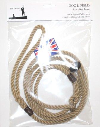 Dog & Field Figure 8 Anti-Pull Lead/Halter/Head Collar/Harness (Natural) 2