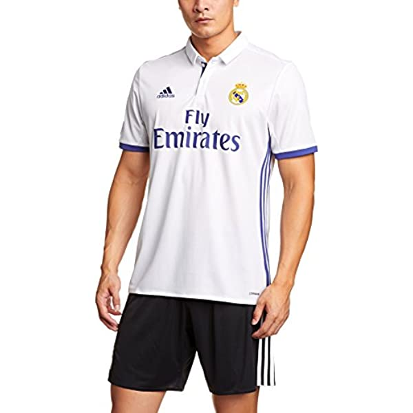 1ª Equipación Real Madrid CF 2016/2017 - Camiseta oficial para hombre adidas, color blanco, talla XL