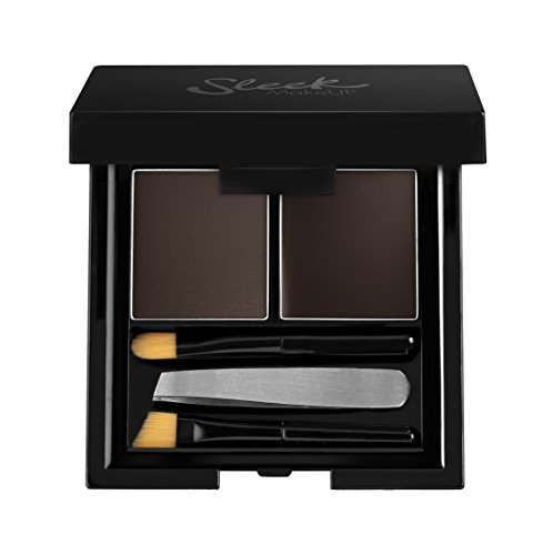 Sleek, Kit per sopracciglia, Marrone (Extra Dark), 4 g