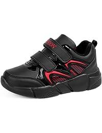 Scarpe da Ginnastica per Bambini con Doppio Velcro Scarpe Sportive da  Allenamento per Bambina a19349a0a2a