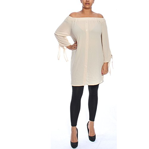 Candy Clothing - Camicia -  donna Beige