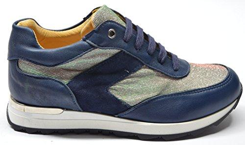 drudd , Chaussures de ville à lacets pour femme Bleu