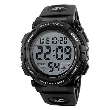 Lemumu 1258 Men's Frau Watch Wasserdicht elektronischen Uhr Mode Multi-funktionale Outdoor Sportuhr Sportuhr, Militär Grün