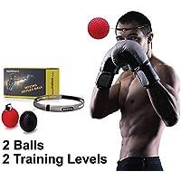 PMYZ Box-Reflex-Ball mit Stirnband, Trainingsgerät verbessert die Hand-Augen-Koordination