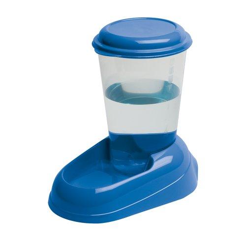 Ferplast 71975099W1 Wasserspender NADIR, für Katzen und Hunde, Maße: 29,2 x 20,2 x 28,8 cm, 3 Liter, blau